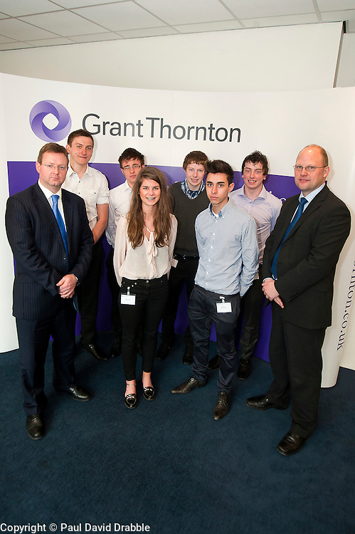Grant Thornton Business Awareness Day.http://www.pauldaviddrabble.co.uk.4 April 2012 .Image © Paul David Drabble