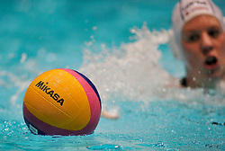 20-01-2012 WATERPOLO: EC HUNGARY - NETHERLANDS: EINDHOVEN<br /> European Championships Hungary - Netherlands / Mikasa ball item water polo<br /> ©2012-FotoHoogendoorn.nl