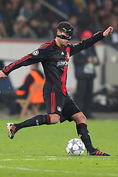23.11.2011, BayArena, Leverkusen, Germany, UEFA CL, Gruppe E, Bayer 04 Leverkusen (GER) vs Chelsea FC (ENG), im Bild Michael Ballack (Leverkusen #13) // during the football match of UEFA Champions league, group E, between Bayer Leverkusen (GER) and FC Chelsea (ENG) at BayArena, Leverkusen, Germany on 2011/11/23.EXPA Pictures © 2011, PhotoCredit: EXPA/ nph/ Mueller..***** ATTENTION - OUT OF GER, CRO *****