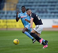 Dundee&rsquo;s Randy Wolters runs at Bolton Wanderers&rsquo; Sammy Ameobi - Dundee v Bolton Wanderers pre-seson friendly at Dens Park, Dundee, Photo: David Young<br /> <br />  - &copy; David Young - www.davidyoungphoto.co.uk - email: davidyoungphoto@gmail.com