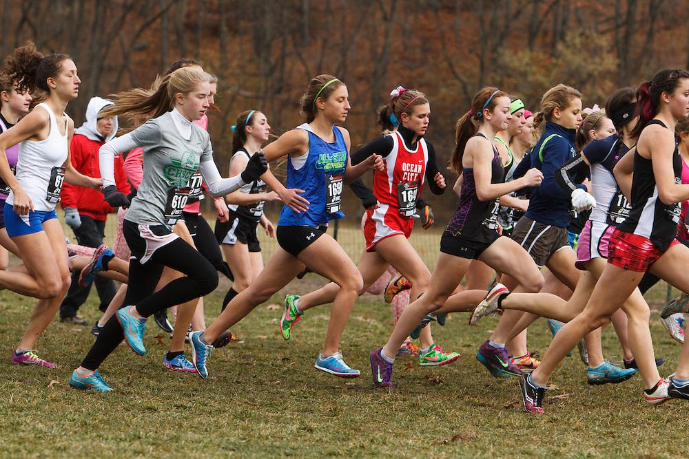 Foot Locker Cross Country Northeast Regional Championship race, Seeded Girls start