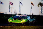 January 22-26, 2020. IMSA Weathertech Series. Rolex Daytona 24hr. #11 GRT Grasser Racing Team, Lamborghini Huracan GT3, Richard Heistand, Steijn Schothorst, Albert Costa, Frank Perera