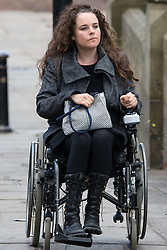 © Licensed to London News Pictures . 30/05/2015 . Manchester , UK . Cherylee Houston arriving . A public memorial for Coronation Street actress Anne Kirkbride at Manchester Cathedral , who died on 19th January 2015 . Photo credit : Joel Goodman/LNP