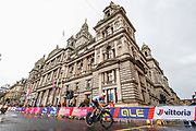 Time Trial Men 45,7 km, Victor Campenaerts (Belgium) during the Road Cycling European Championships Glasgow 2018, in Glasgow City Centre and metropolitan areas Great Britain, Day 7, on August 8, 2018 - Photo Luca Bettini / BettiniPhoto / ProSportsImages / DPPI - restriction - Netherlands out, Belgium out, Spain out, Italy out