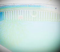 A pool at the Ranch motel in Rice Hill, Oregon.