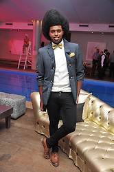 PRINCE CASSIUS at a pool party to celebrate the UK launch of the Omega Ladymatic Collection held at the Haymarket Hotel, Haymarket, London on 16th June 2011.