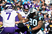 December 10, 2017: Minnesota vs Carolina. Julius Peppers