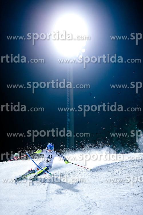 13.01.2015, Hermann Maier Weltcupstrecke, Flachau, AUT, FIS Weltcup Ski Alpin, Flachau, Slalom, Damen, 1. Lauf, im Bild Nathalie Eklund (SWE) // Nathalie Eklund of Sweden in action during 1st run of the ladie's Slalom of the FIS Ski Alpine World Cup at the Hermann Maier Weltcupstrecke in Flachau, Austria on 2015/01/13. EXPA Pictures © 2015, PhotoCredit: EXPA/ Johann Groder