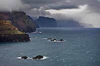Landscape of Ponta de Sao Lourenco, Madeira, March 2009.