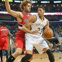 Portland Trail Blazers VS Pelicans 2013