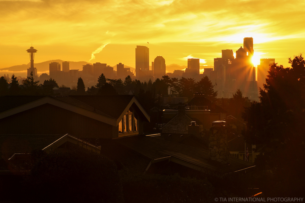 Seattle Skyline @ Dawn