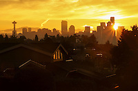 Seattle Skyline @ Dawn