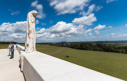 25.06.2016, Vimy, FRA, das kanadische Denkmal von Vimy, im Bild Madonnenskulptur. Zwei weiße Türme dominieren die Ebene von Lens und erinnern an die Schlacht von Vimy, die im April 1917 stattfand // The Canadian National Vimy Memorial is a memorial site dedicated to the memory of Canadian Expeditionary Force members killed during the First World War at Vimy, France on 2016/06/25. EXPA Pictures © 2016, PhotoCredit: EXPA/ JFK