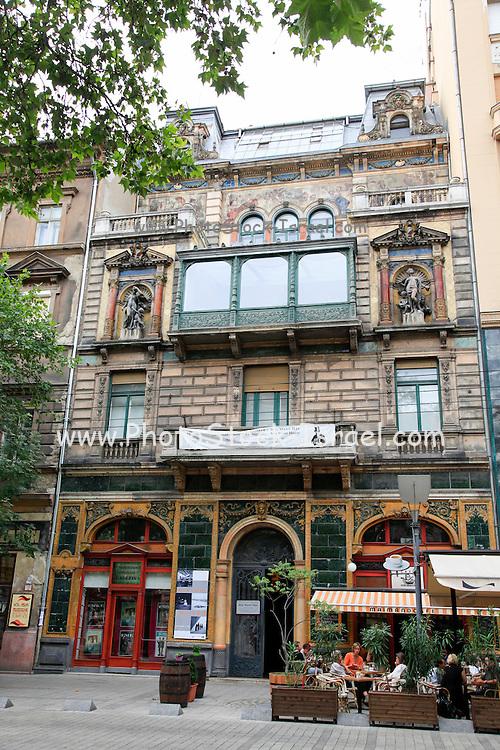 Budapest, Hungary Mai Mano cafe