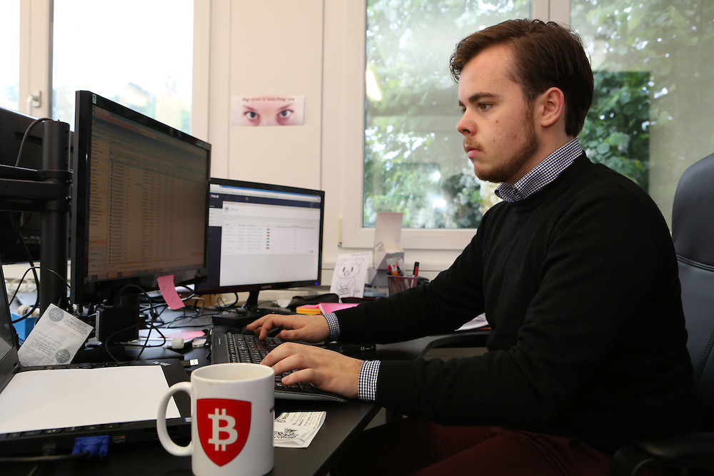 Nicolai Oster, Operations Manager at Bitcoin Suisse AG, Baar, Canton of Zug, Switzerland