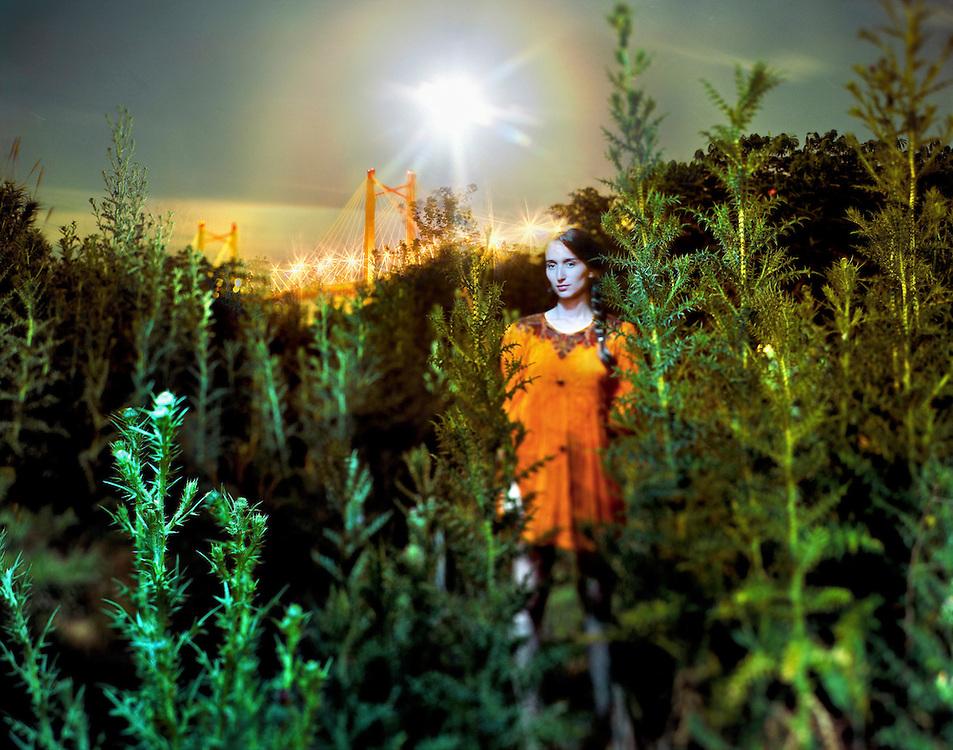Retrato de Luna, en homenaje al trabajo de su padre el fotógrafo Roland Paiva, quien hiciera un libro sobre el Río Paraná.