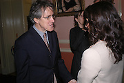 Griff Rhys Jones. Book party for 'Saturday' by Ian McEwan, Polish Club, South Kensington.  4 February 2005. ONE TIME USE ONLY - DO NOT ARCHIVE  © Copyright Photograph by Dafydd Jones 66 Stockwell Park Rd. London SW9 0DA Tel 020 7733 0108 www.dafjones.com