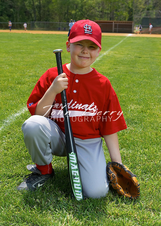 Madison Parks & Rec Baseball 2005, Rookie League Team & Individual