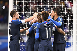 November 14, 2019, Saint Denis, FRANCE: 02 BENJAMIN PAVARD (FRA) - 04 RAPHAEL VARANE (FRA) - JOIE (Credit Image: © Panoramic via ZUMA Press)