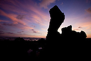 Tibau do Sul_RN, Brasil...Na foto, nascer do sol na Praia do Amor, em Pipa, Rio Grande do Norte...The daybreak in the Amor beach in Pipa, Rio Grande do Norte...Foto: LEO DRUMOND / NITRO