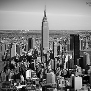 The Empire State Building even after all this time towering above everything else around it