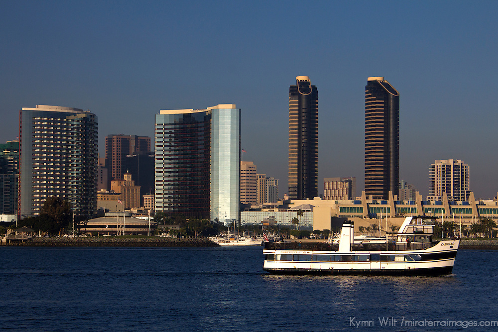 USA, California, San Diego. The San Diego Coronado Passenger Ferry.