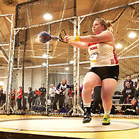 Brittany Crew, York, 2019 U SPORTS Track and Field Championships on Thu Mar 07 at James Daly Fieldhouse. Credit: Arthur Ward/Arthur Images