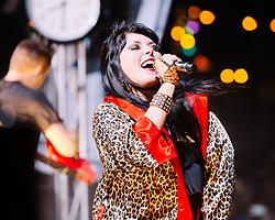 Sleigh Bells perform at The Treasure Island Music Festival - San Francisco, CA - 10/20/13