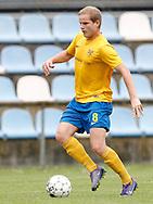 FODBOLD: Stefan Fjeldsted Jensen (Ølstykke FC) under kampen i Serie 1 mellem Ølstykke FC og Brede IF den 3. juni 2017 på Ølstykke Stadion. Foto: Claus Birch