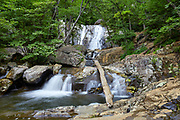 One of the waterfalls in Lower Whiteoak Canyon, located in the eastern section of Shenandoah National Park near the community of Syria