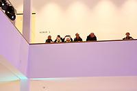 Mannheim. 15.12.17  <br /> Kunsthalle. Neubau. Nachtaufnahmen von Aussen mit der Mesh-Fassade. Er&ouml;ffnung<br /> <br /> Bild-ID 053   Markus Pro&szlig;witz 15DEC17 / masterpress