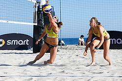 20140605 ITA: EK Beachvolleybal, Cagliari<br /> Jantine van der Vlist, Rimke Braakman<br /> ©2014-FotoHoogendoorn.nl / Pim Waslander