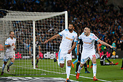 Rolando of Olympique de Marseille celebrates scoring during the French Championship Ligue 1 football match between Olympique de Marseille and Olympique Lyonnais on march 18, 2018 at Orange Velodrome stadium in Marseille, France - Photo Philippe Laurenson / ProSportsImages / DPPI