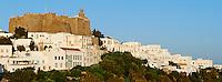 Grece, Dodecanese, Patmos, monastere St Jean le Theologien, Patrimoine Unesco // Greece, Dodecanese, Patmos island, Agios Ioanis Theologos, St John Monastery, Unesco world heritage