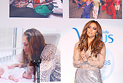 Jennifer Lopez appears to launch her Venus shaver campaign at Radio City Music Hall in New York City, New York on February 2, 2011.