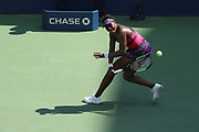 FLUSHING MEADOW, NY - AUGUST 29: VENUS WILLIAMS (USA) day three of the 2018 US Open on August 29, 2018, at Billie Jean King National Tennis Center in Flushing Meadow, NY. (Photo by Chaz Niell/Icon Sportswire)