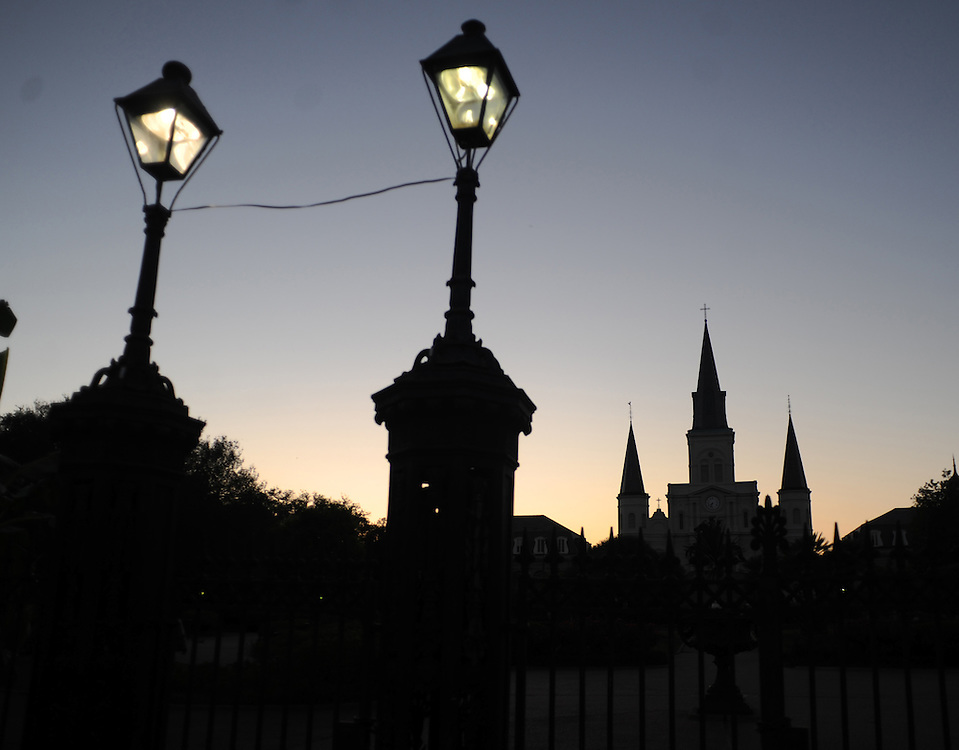 Photo By Michael R. Schmidt.New Orleans, 2012. St. Louis Cathedral.