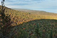 View from the Carlton Peak hike looking North along the North Shore of Lake Superior