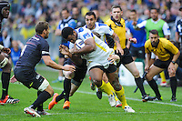 Naipolioni NALAGA - 18.04.2015 - Clermont / Saracens - 1/2Finale European Champions Cup<br />Photo : Jean Paul Thomas / Icon Sport