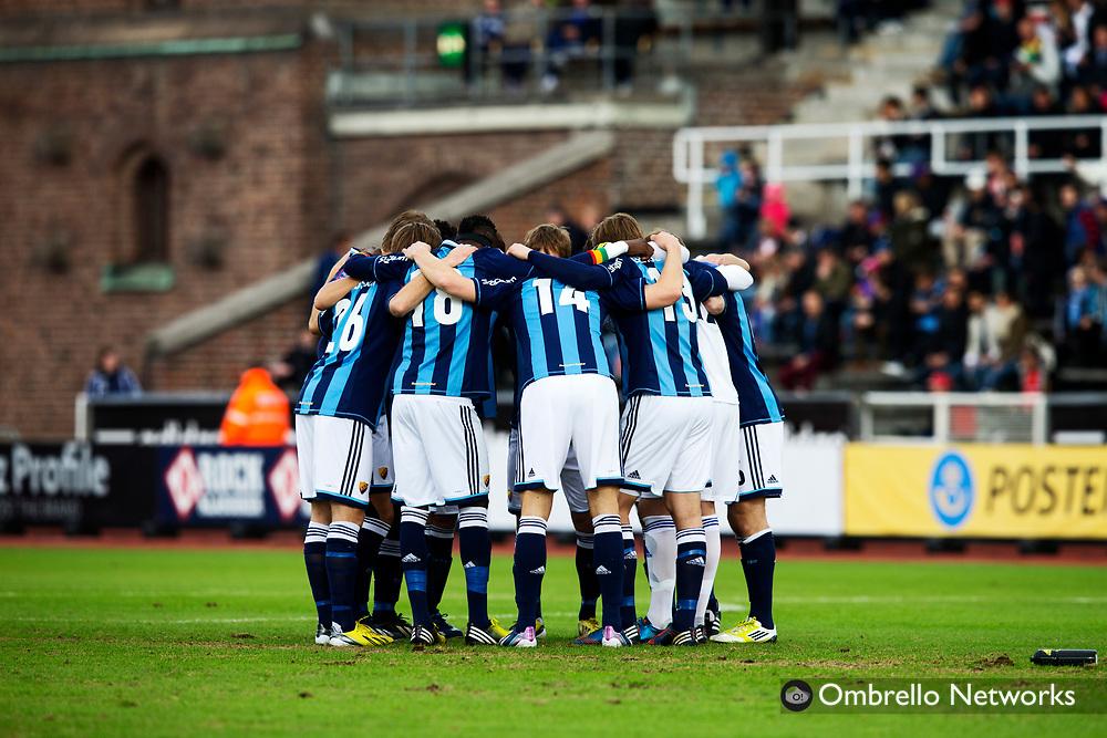 STOCKHOLM 2013-04-27<br />ALLSVENSKAN FOTBOLL DJURG&Aring;RDEN VS SYRIANSKA FC