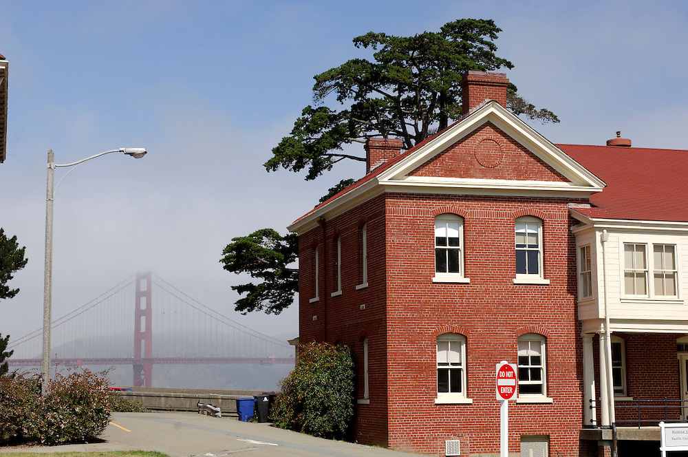 Presidio National Historic Site and Golden Gate Bridge, San Francisco, California, United States of America