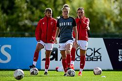 Jasmine Matthews of Bristol City prior to kick off - Mandatory by-line: Ryan Hiscott/JMP - 29/09/2019 - FOOTBALL - SGS College Stoke Gifford Stadium - Bristol, England - Bristol City Women v Chelsea Women - FA Women's Super League