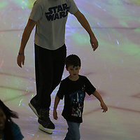 Libby Ezell | BUY AT PHOTOS.DJOURNAL.COM<br /> Reed Nunnelee of Brandon takes his son, Thomas, ice skating for the first time on Saturday