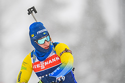 March 8, 2019 - –Stersund, Sweden - 190308 Martin Ponsiluoma of Sweden at the men's training session during the IBU World Championships Biathlon on March 8, 2019 in Östersund..Photo: Petter Arvidson / BILDBYRÃ…N / kod PA / 92246 (Credit Image: © Petter Arvidson/Bildbyran via ZUMA Press)