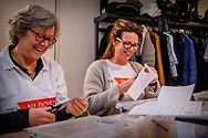 AMERSFOORT - Prinses Annette brengt een verrassingsbezoek aan kinderdagcentrum Onder een dak. Ze helpt jongeren met een verstandelijke beperking. De prinses doet dit in het kader van NLdoet van het Oranje Fonds. ANP ROYAL IMAGES ROBIN UTRECHT