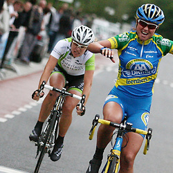 Chantal Blaak wins in Vlissingen 1th stage Ster Zeeuwse eilanden.