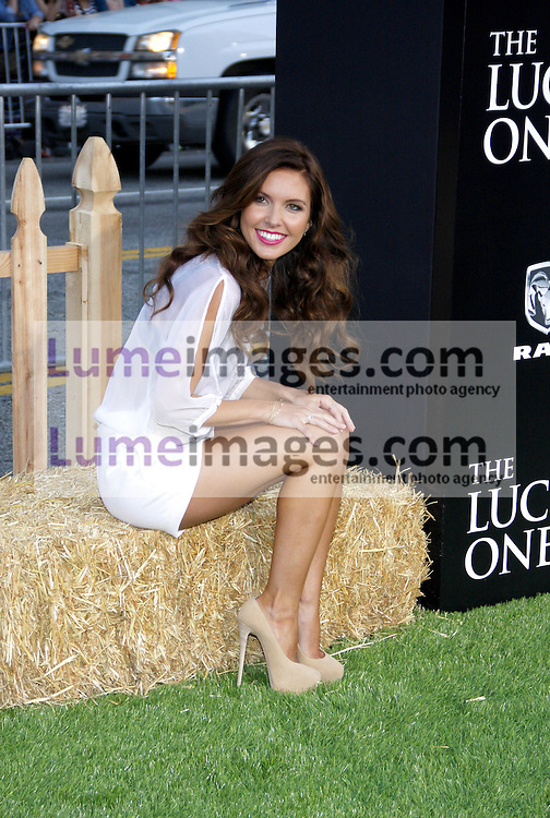UNITED STATES, HOLLYWOOD, APRIL 16, 2012: Audrina Patridge at the Los Angeles premiere of 'The Lucky One' held at the Grauman's Chinese Theater in Hollywood, USA on April 16, 2012.