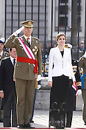 010616 Spanish Royals Celebrate New Year's Military Parade 2016
