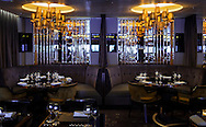 The interior of The Limelight Club on board P&O Cruises' newest ship, Britannia, which arrived into her home port of Southampton on Friday. She will be named by Her Majesty the Queen on Tuesday. She is the largest vessel in the P&O fleet, capable of carrying 3600 passengers, and is the biggest ship built to serve the british cruise market.<br /> Picture date: Saturday March 7, 2015.<br /> Photograph by Christopher Ison ©<br /> 07544044177<br /> chris@christopherison.com<br /> www.christopherison.com