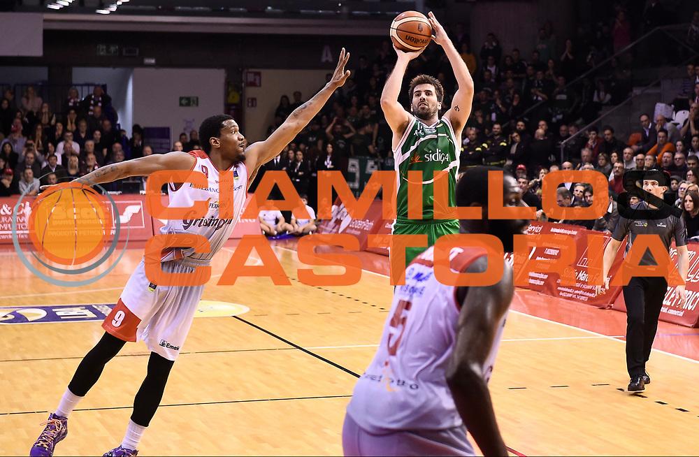 Grissin Bon Reggio Emilia - Sidigas Avellino<br /> Lega Basket Serie A 2017/2018<br /> Reggio Emilia, 20/01/2018<br /> Foto A.Giberti / Ciamillo - Castoria